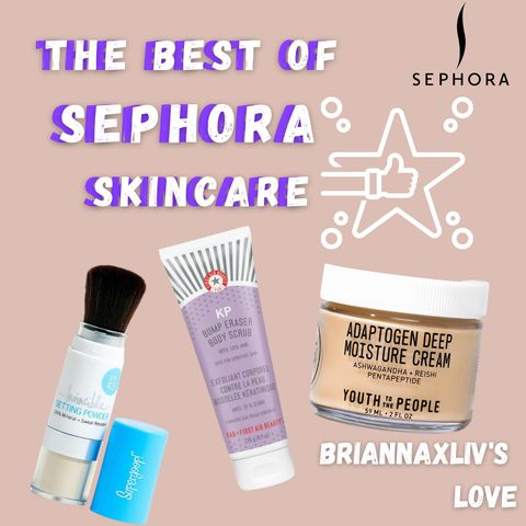 Briannaxliv Recommended👍Must Have at SEPHORA❤️ I tried them and found...