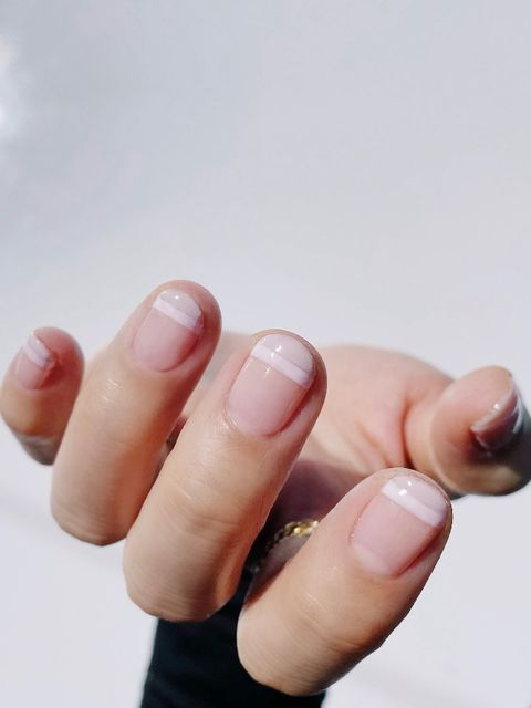 Nude nails!