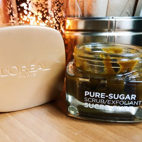 I love this sugar scrub by L'O