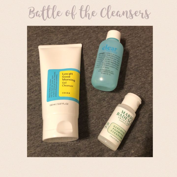Battle of the Face Cleansers