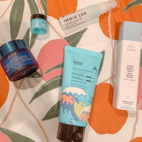 This skincare routine works miracles on dry skin