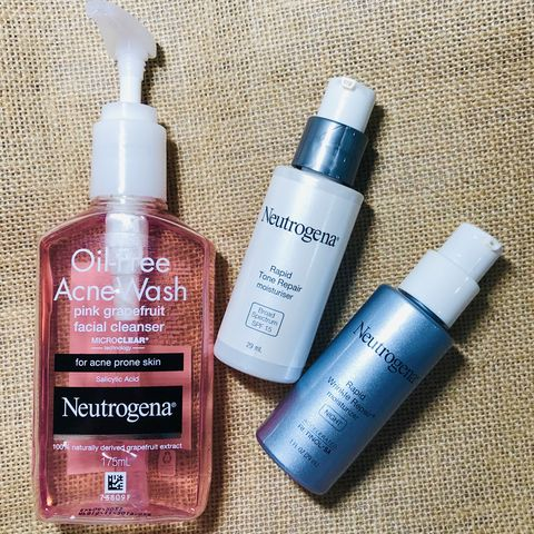 Neutrogena always has my back!