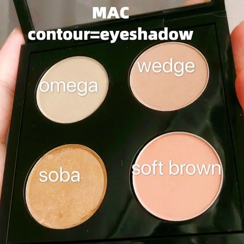 Contour can be used as eyeshadow? Lipstick can be used as blush?