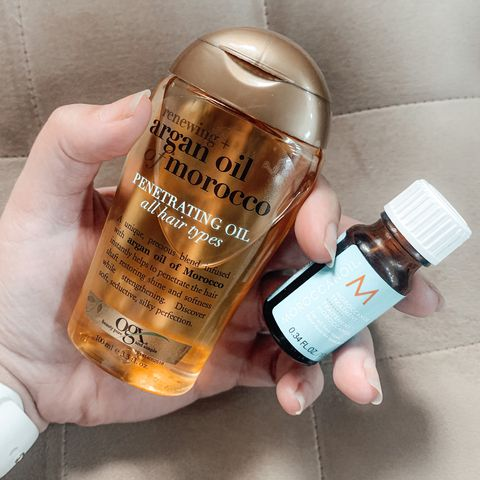Drugstore hair oil DUPE!