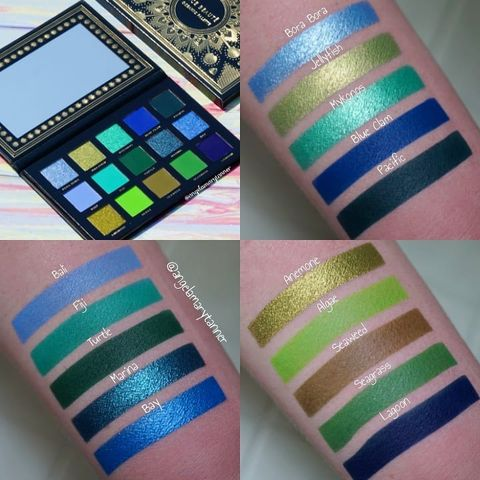 Swatches of the Ace Beaute OCE