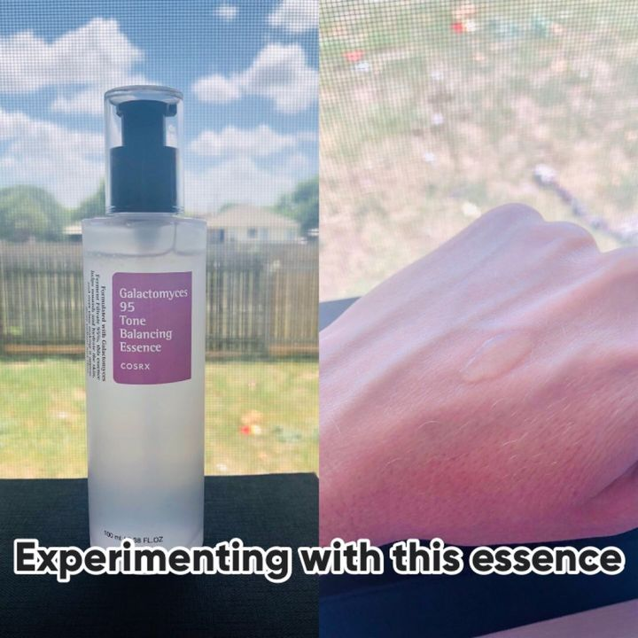 Almost returned COSRX Galactomyces Essence...