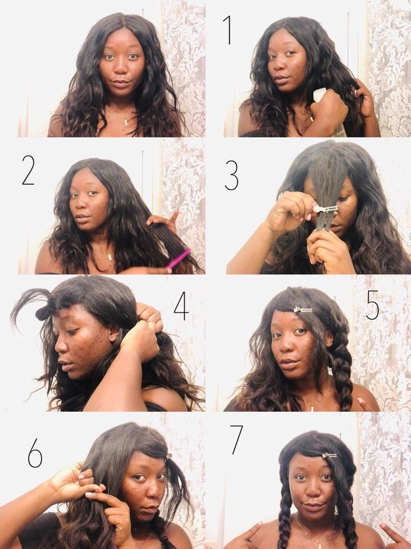 SIMPLE SUMMER BRAIDS👧🏾 | Cherie