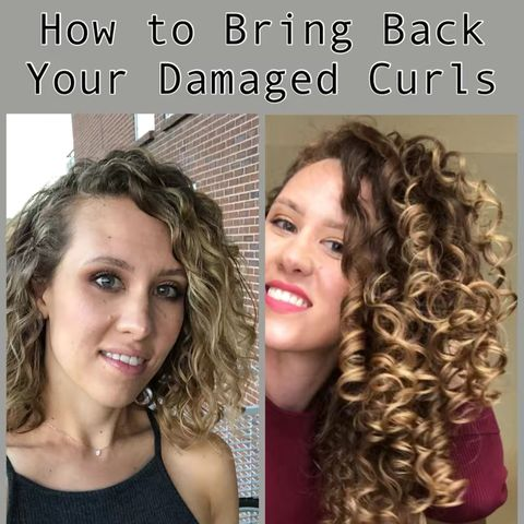How to Bring Back Damaged Curls