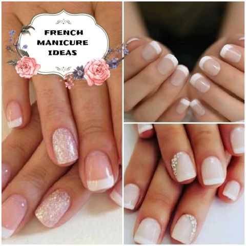 FRENCH MANICURE: for 3 different occasions