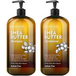 Shea Butter Shampoo and Conditioner Set