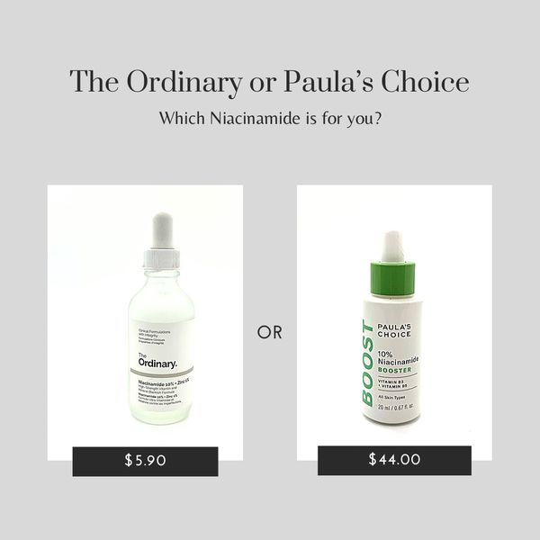 Which Niacinamide would you choose?    Cherie