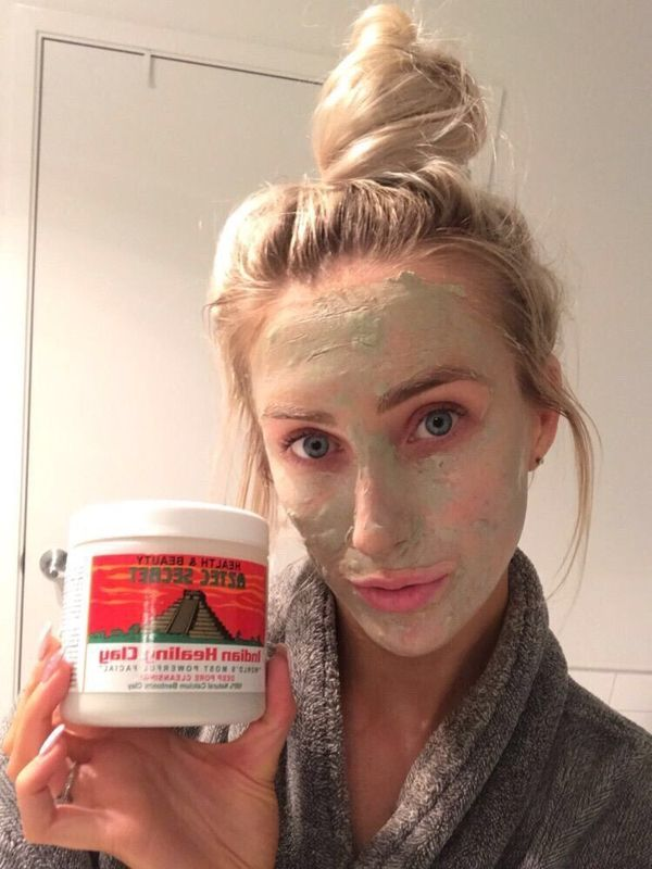 Trying out the Aztec Secret Indian Healing Clay! | Cherie
