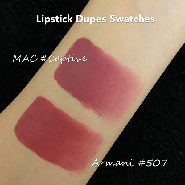Best Armani Lipstick Dupes – Mac | Cherie