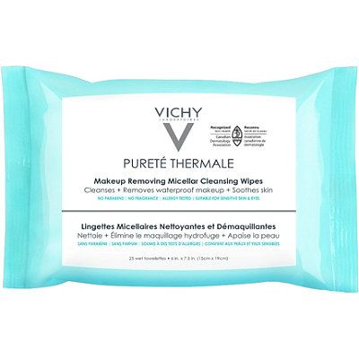 Pureté Thermale Makeup Remover Wipes with Micellar Water, VICHY, cherie