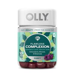 Flawless Complexion Dietary Supplement Gummies Berry Fresh