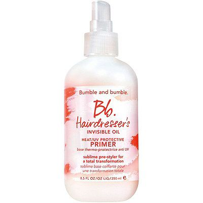 Bb.Hairdresser's Invisible Oil Heat/UV Protective Primer, Bumble and bumble., cherie