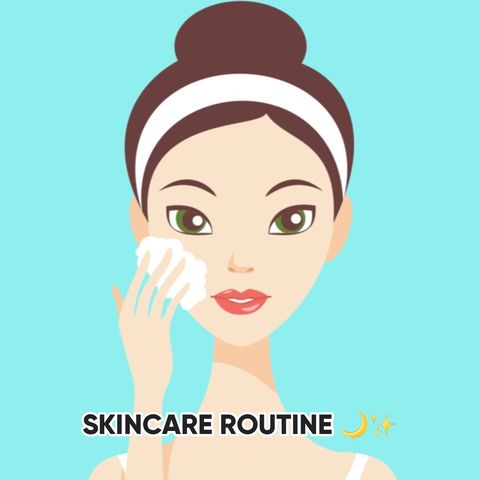 NIGHTTIME SKINCARE ROUTINE FOR ACNE PRONE SKIN