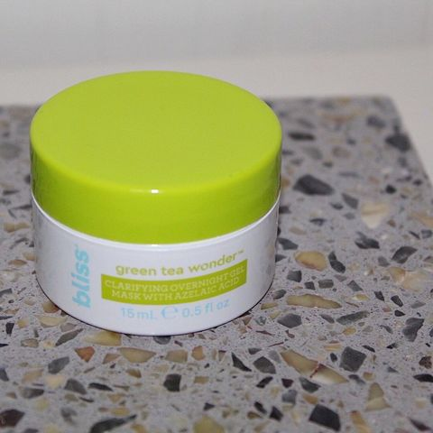 Bliss Green Tea Wonder - Great Mask for Acne!