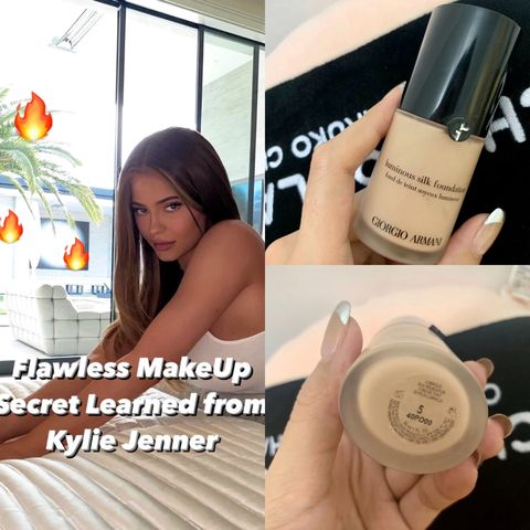 Flawless Makeup Secret Learned From Kylie🔥🔥🔥
