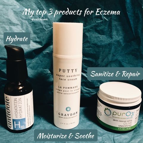 """My Top 3 Products for """"Healing"""" Eczema"""