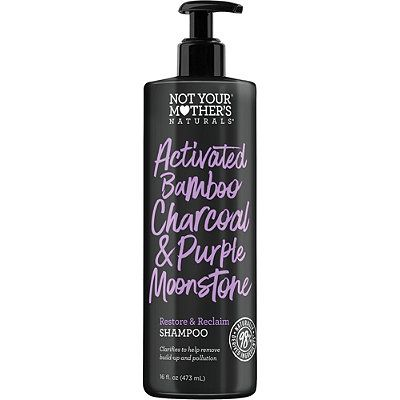 Activated Bamboo Charcoal & Purple Moonstone Restore & Reclaim Shampoo