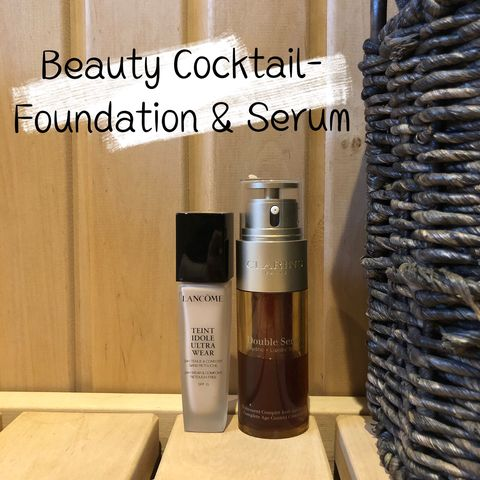 Beauty Cocktail: Foundation+ Serum