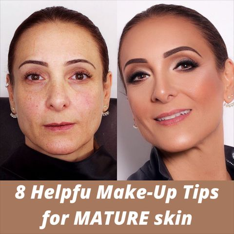 Ultimate Guide to Ageless Makeup for Women With Mature skin