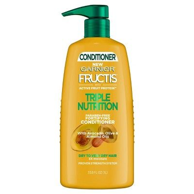 Fructis Active Fruit Protein Triple Nutrition Fortifying Conditioner