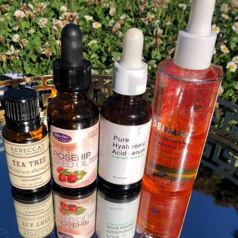 Oils, serums, and acids OH MY!