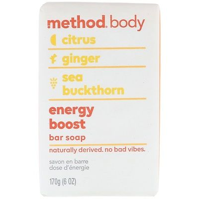 Body, Bar Soap, Energy Boost