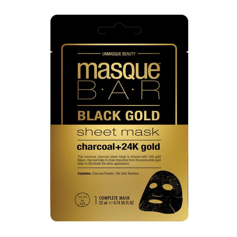 Black Gold Sheet Mask