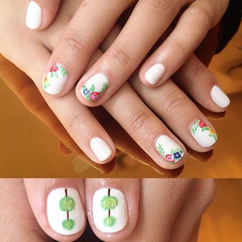 🌱🌺Flowers nails