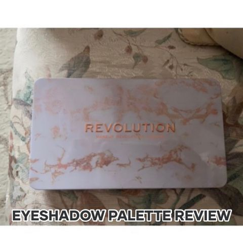 EYESHADOW PALETTE REVIEW ❤️