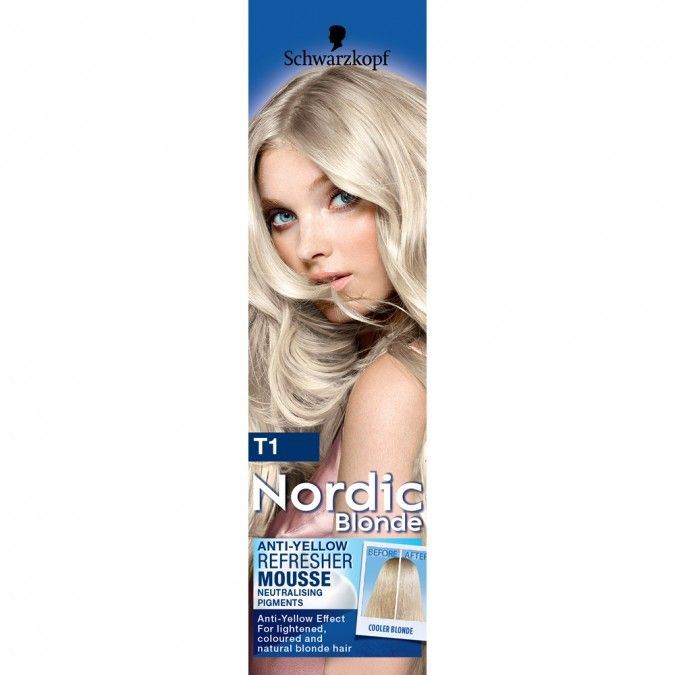 Nordic Blonde T1 Icy Platinum Anti-Yellow Refresher Mousse