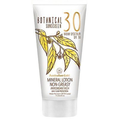 Free Botanical Mineral Lotion Sunscreen Deluxe Sample With Brand Purchase