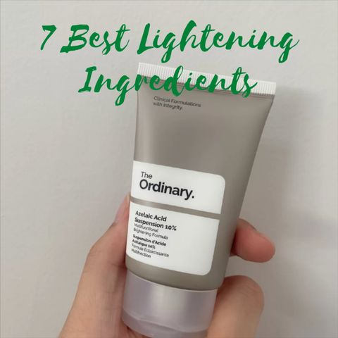 Banish Dark Spots with the 7 Best Lightening Ingredients