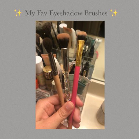 ✨ My Fav Eyeshadow Brushes ✨