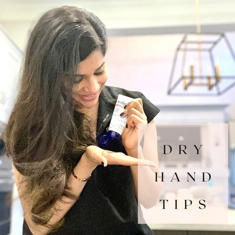 Derm doc's tips and faves for dry hands ✨