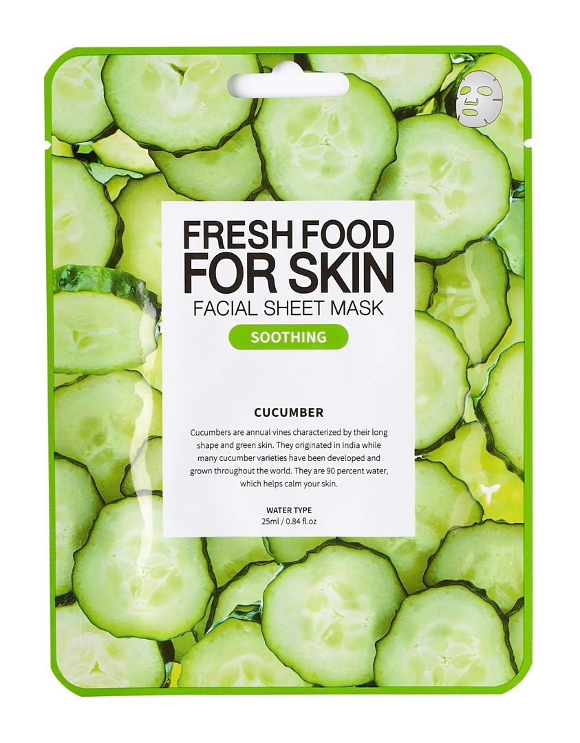 Freshfood For Skin Facial Sheet Mask (Cucumber)
