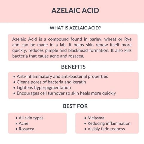 What is Azelaic Acid and What it Does for Skin