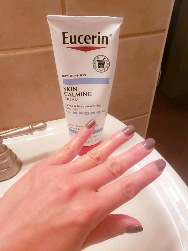 Get rid of dry, cracked hands with Eucerin! | Cherie