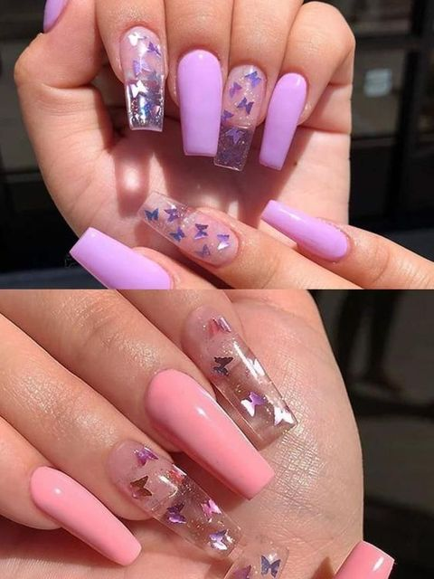 Lazy girl!These Nail Stickers Are a 10-Second Way to Make At-Home Nail
