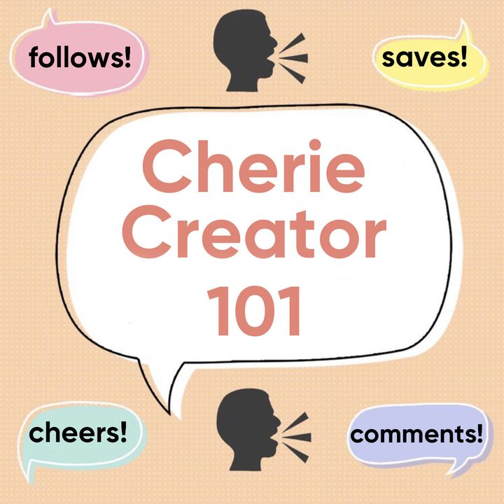 ✨ Cherie Creator 101 -  Topic Thought-Starters for Beginners