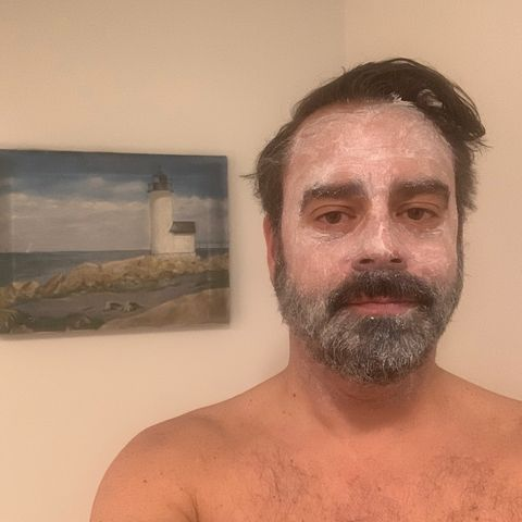 Self care masking with Beekman 1802