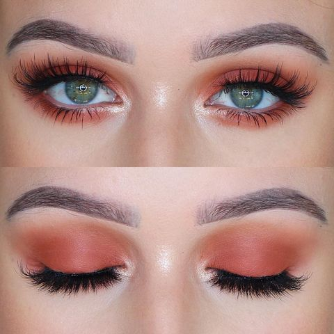 🍊ORANGE SMOKEY EYE🍊