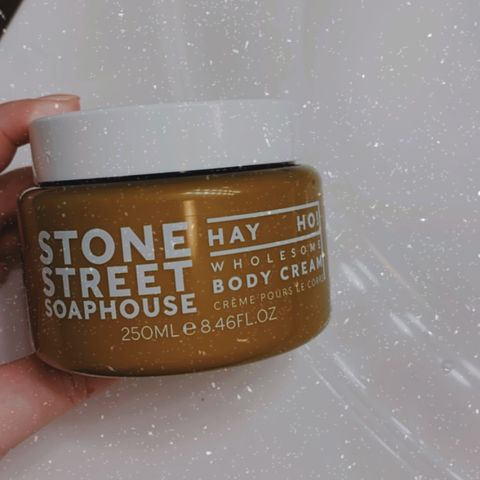 Stone Street Soaphouse Body Cream
