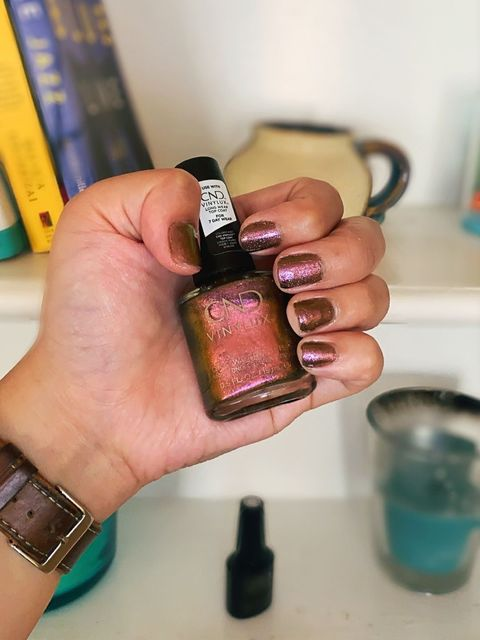 Fall Nails with CND 🍁// Lasts Up to 1 Week
