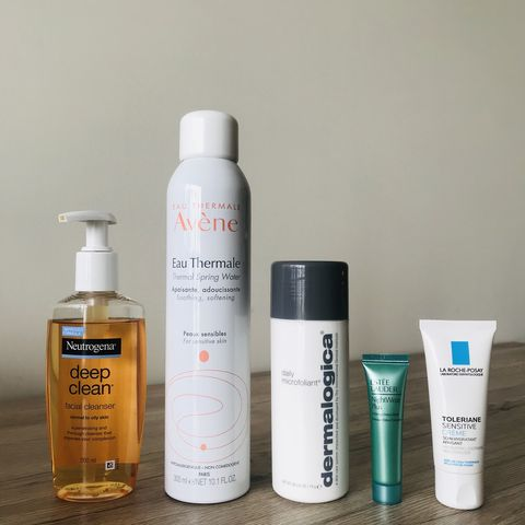 Oily / Acne-Prone Skin Deep Cleanse Routine