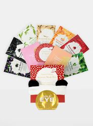 Korean Face Mask Box + Free Gold Eye Pad