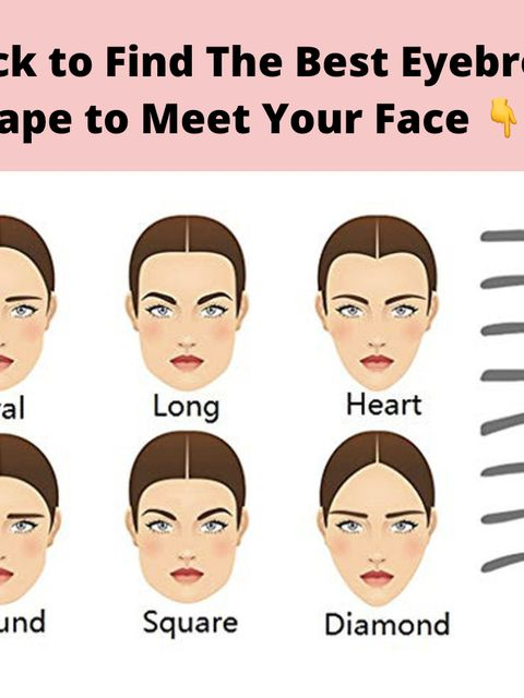 Which eyebrow shape is the best for you ?